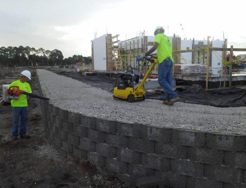 SWA Retaining Wall